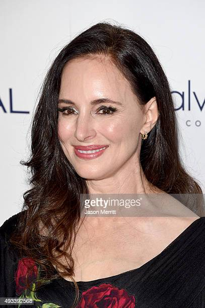 Actress Madeleine Stowe attends the 22nd Annual ELLE Women in Hollywood Awards at Four Seasons Hotel Los Angeles at Beverly Hills on October 19 2015...