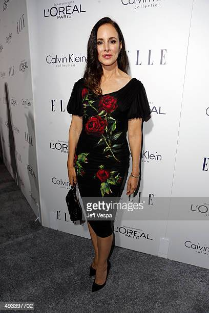 Actress Madeleine Stowe attends the 22nd Annual ELLE Women in Hollywood Awards presented by Calvin Klein Collection L'Oréal Paris and David Yurman at...