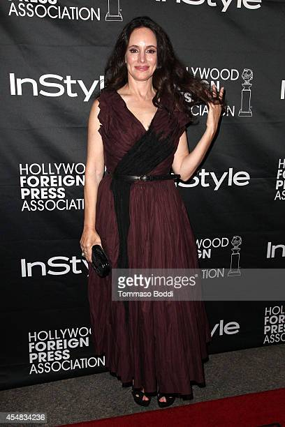 Actress Madeleine Stowe attends the HFPA & InStyle's 2014 TIFF celebration at the 2014 Toronto International Film Festival at Windsor Arms Hotel on...