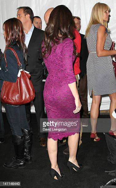 Actress Madeleine Stowe attends The Paley Center for Media's PaleyFest 2012 honoring Revenge at Saban Theatre on March 11 2012 in Beverly Hills...
