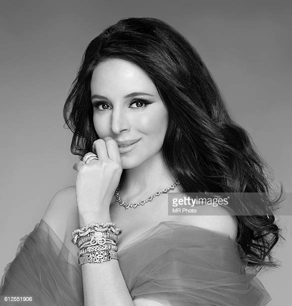 Actress Madeleine Stowe is photographed for Parade Magazine on July 21 2010 in Los Angeles California