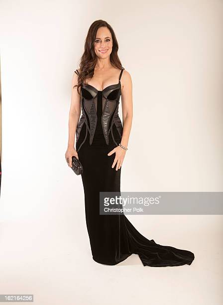 Actress Madeleine Stowe poses for a portrait during the 15th Annual Costume Designers Guild Awards with presenting sponsor Lacoste at The Beverly...