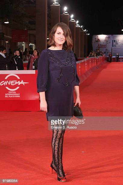 Actress Madeleine Worrall attends the 'Bunny and the Bull' Premiere during day 4 of the 4th Rome International Film Festival held at the Auditorium...