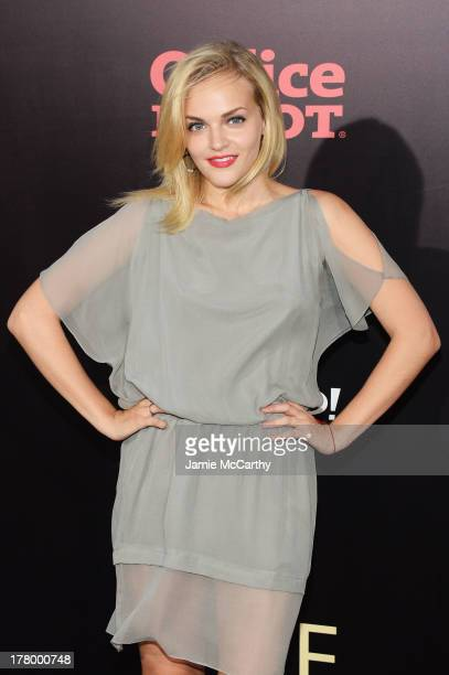 Actress Madeline Brewer attends the world premiere of One Direction This Is Us at the Ziegfeld Theater on August 26 2013 in New York City