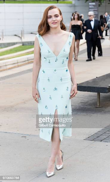 Actress Madeline Brewer is seen arriving to the 2018 CFDA Fashion Awards at Brooklyn Museum on June 4 2018 in New York City