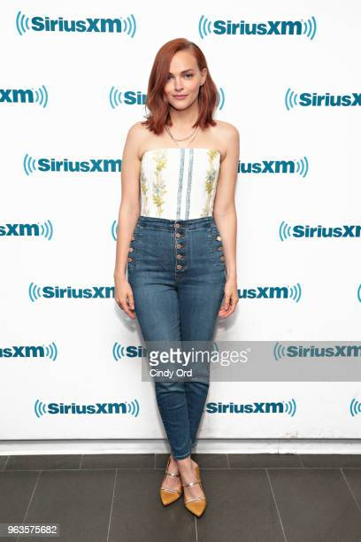 Actress Madeline Brewer visits the SiriusXM Studios on May 29 2018 in New York City