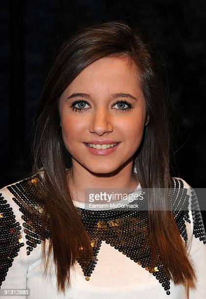 Actress Madeline Duggan attends the launch of iPod skins by Wrappz in aid of Children In Need at Hamleys on October 1 2009 in London England