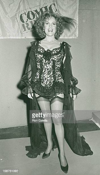 Actress Madeline Kahn attends Comic Relief Benefit on March 29 1986 at the Universal Ampitheater in Universal City California