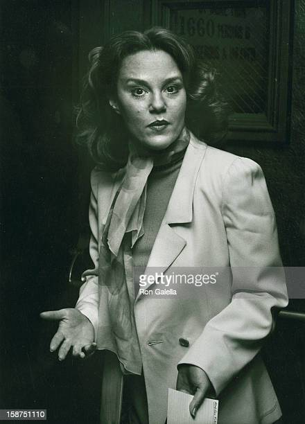 Actress Madeline Kahn attends Cue Awards Luncheon on November 16 1977 at the Waldorf Hotel in New York City