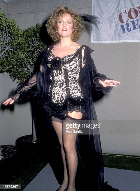 Actress Madeline Kahn attends HBO's First Comic Relief Variety Television Special to Help Raise Money for the Homeless on March 29 1986 at Universal...