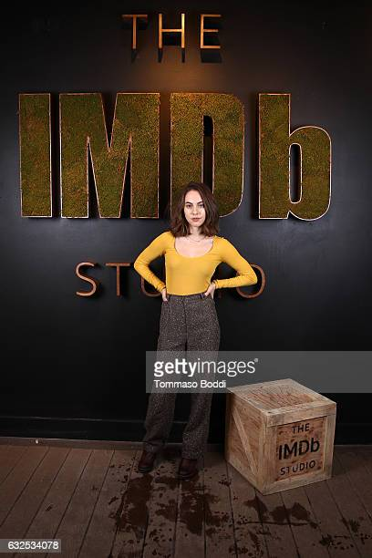 Actress Madeline Weinstein of Beach Rats attends The IMDb Studio featuring the Filmmaker Discovery Lounge presented by Amazon Video Direct Day Four...