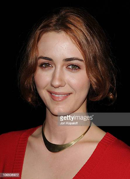 Actress Madeline Zima arrives at the Los Angeles Premiere 127 Hours at AMPAS Samuel Goldwyn Theater on November 3 2010 in Beverly Hills California