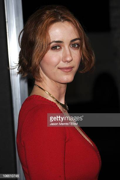 Actress Madeline Zima arrives at the premiere of '127 Hours' at the Academy Of Motion Picture Arts and Sciences Samuel Goldwyn Theater on November 3...