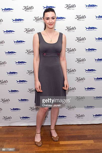 Actress Madeline Zima attends the launch of Limited Edition Superbly Restorative Argan Body Lotion on April 22 2009 in Santa Monica California