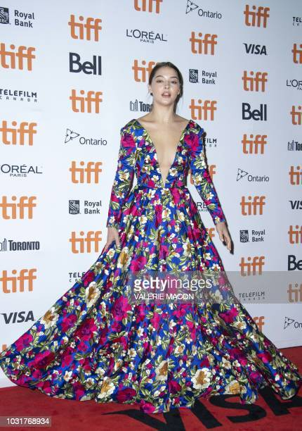 "Actress Madelyn Cline attends the premiere of ""Boy Erased"" during the Toronto International Film Festival, on September 11 in Toronto, Ontario,..."