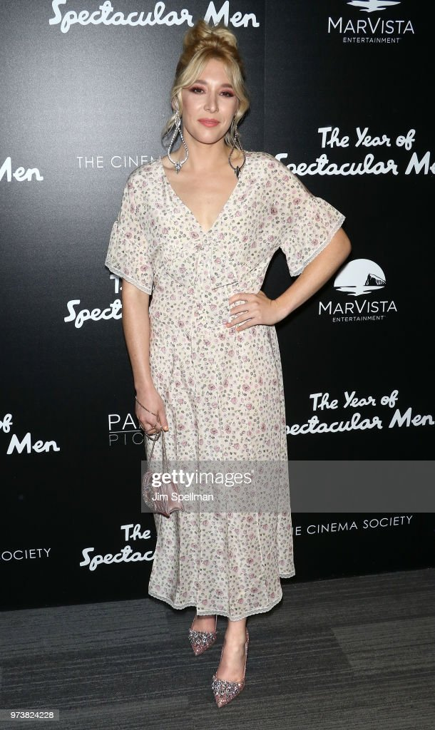 Actress Madelyn Deutch attends the screening of 'The Year Of Spectacular Men' hosted by MarVista Entertainment and Parkside Pictures with The Cinema Society at The Landmark at 57 West on June 13, 2018 in New York City.