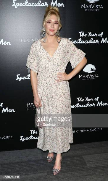 Actress Madelyn Deutch attends the screening of 'The Year Of Spectacular Men' hosted by MarVista Entertainment and Parkside Pictures with The Cinema...