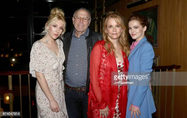 Actress Madelyn Deutch producer Howard Deutch director/actress Lea Thompson and actress Zoey Deutch attend the screening after party for 'The Year Of...