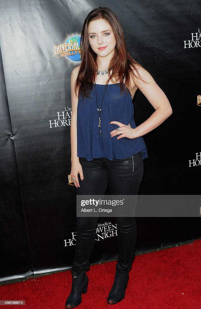 Actress Madison Davenport arrives for Universal Studios Hollywood 'Halloween Horror Nights' Kick Off With The Annual 'Eyegore Awards' held at Universal Studios Hollywood on September 19, 2014 in Universal City, California.
