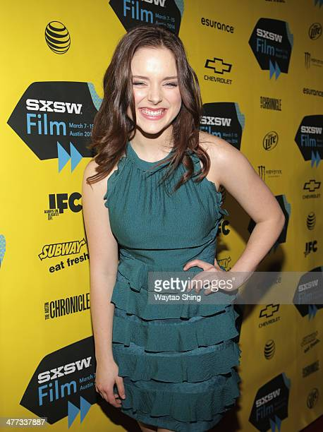 Actress Madison Davenport at From Dusk Till Dawn The Series Pilot Photo Op and QA during the 2014 SXSW Music Film Interactive Festival at Austin...
