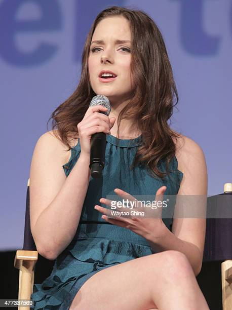 Actress Madison Davenport speaks onstage at From Dusk Till Dawn The Series Pilot Photo Op and QA during the 2014 SXSW Music Film Interactive Festival...