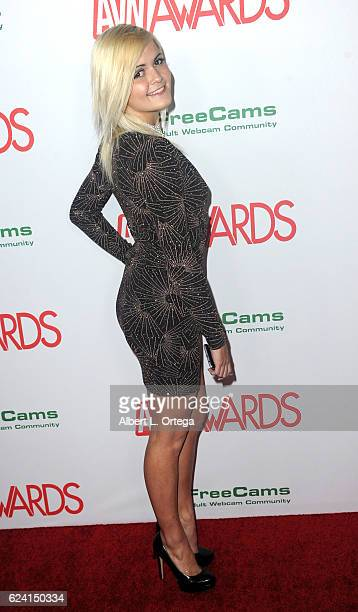 Actress Madison Hart arrives for the 2017 AVN Awards Nomination Party held at Avalon on November 17 2016 in Hollywood California