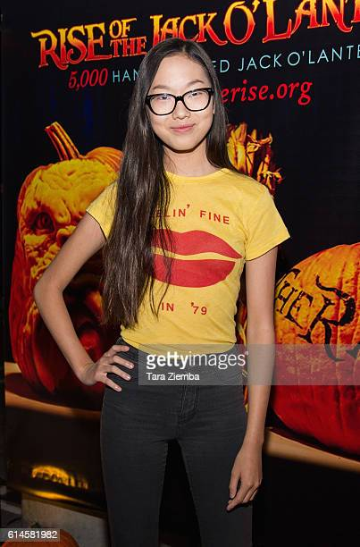 Actress Madison Hu attends Rise of the Jack O'Lanterns at Los Angeles Convention Center on October 13 2016 in Los Angeles California