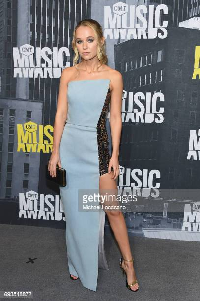 Actress Madison Iseman attends the 2017 CMT Music Awards at the Music City Center on June 7 2017 in Nashville Tennessee
