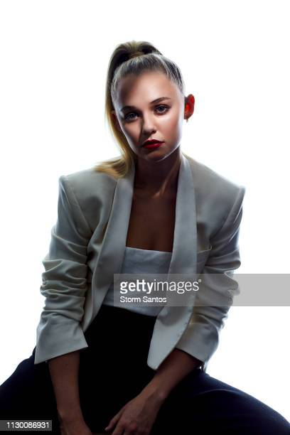 Actress Madison Iseman is photographed for House of Solo Magazine on September 21 2018 in Los Angeles California