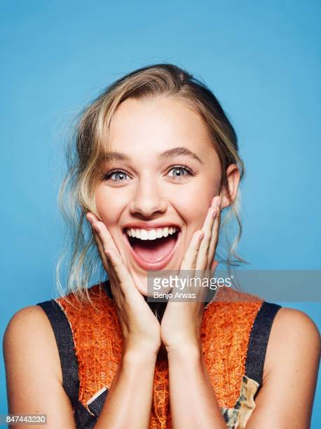 Actress Madison Iseman is photographed for Self Assignment on August 11 2017 in Los Angeles California