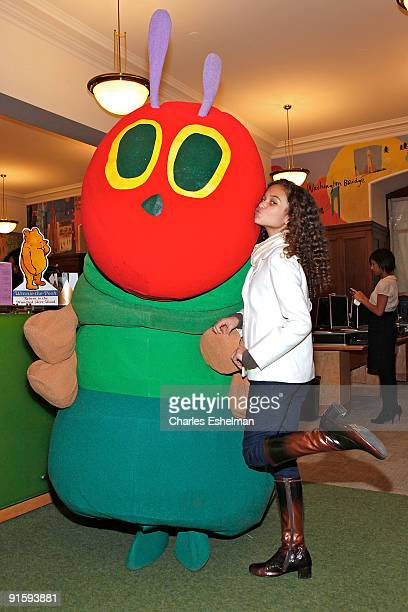 Actress Madison Pettis attends Jumpstart's 4th Annual National Read for the Record Day at The New York Public Library on October 8 2009 in New York...