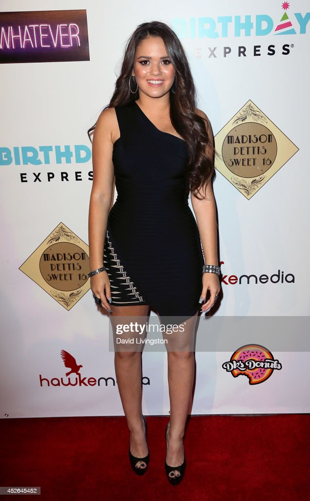 Madison Pettis Sweet 16 Birthday Party : Fotografia de notícias