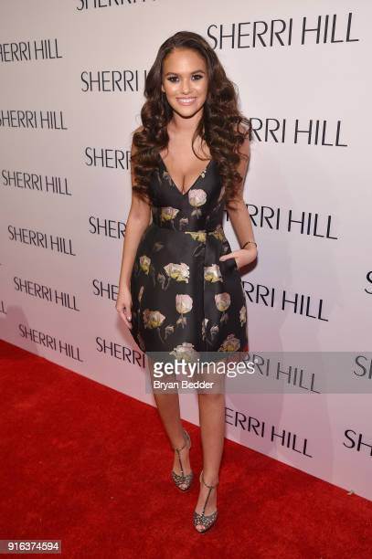 Actress Madison Pettis attends the NYFW Sherri Hill Runway Show on February 9 2018 in New York City