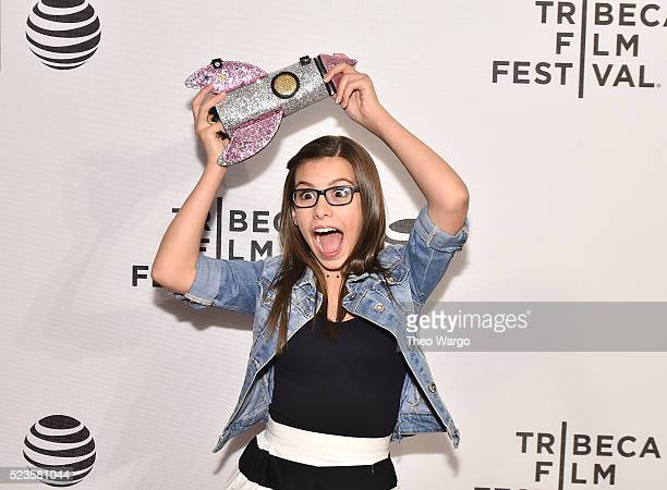 Actress Madisyn Shipman attends 'Geezer' Premiere 2016 Tribeca Film Festival at Spring Studios on April 23 2016 in New York City