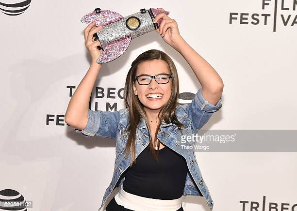 Actress Madisyn Shipman attends Geezer Premiere 2016 Tribeca Film Festival at Spring Studios on April 23 2016 in New York City