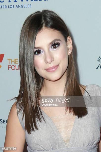 Actress Madisyn Shipman attends the MakeAWish Greater Los Angeles 2017 Wish Gala at Hollywood Palladium on November 9 2017 in Los Angeles California