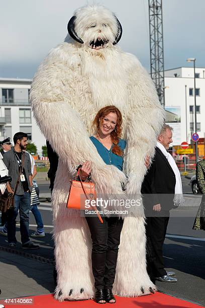 Actress Madlen Kaniuth attends the 'Star Wars Identities' Exhibtion Press Preview VIP Opening at Odysseum on May 20 2015 in Cologne Germany