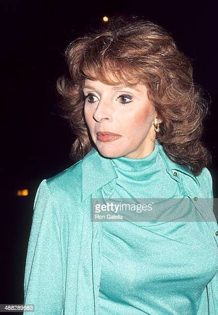 Actress Madlyn Rhue attends Altovise and Sammy Davis Jr's Seventh Wedding Anniversary Celebration May 28 1977 at The Bistro in Beverly Hills...