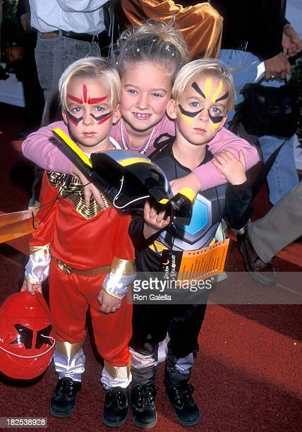 Actress Madylin Sweeten and brothers Sawyer and Sullivan attend the Sixth Annual Dream Halloween Benefit for the Children Affected by AIDS Foundation...