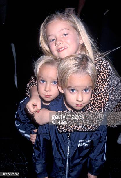 Actress Madylin Sweeten and brothers Sawyer and Sullivan Sweeten attend Mickey's Once Upon a Christmas Hollywood Premiere on November 8 1999 at the...