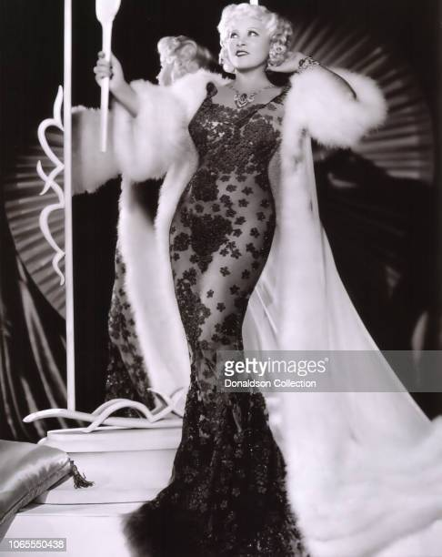 "Actress Mae West in a scene from the movie ""Go West, Young Man"""
