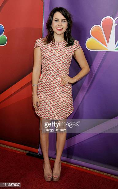 Actress Mae Whitman arrives at the 2013 NBC Television Critics Association's Summer Press Tour at The Beverly Hilton Hotel on July 27 2013 in Beverly...