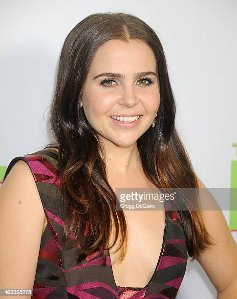 Actress Mae Whitman arrives at the Los Angeles screening of 'The Duff' at TCL Chinese 6 Theatres on February 12 2015 in Hollywood California