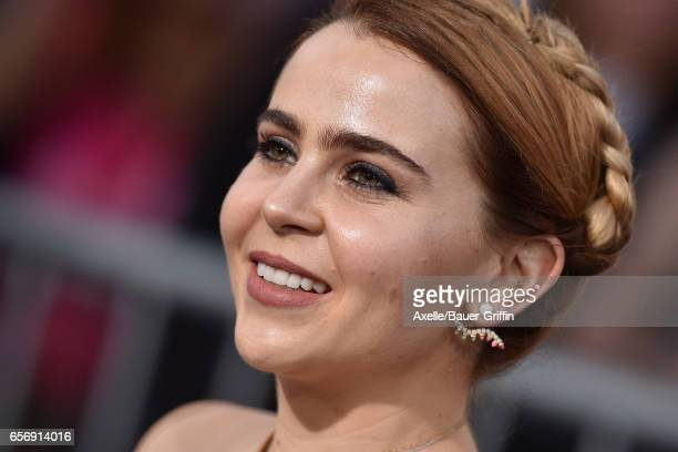 Actress Mae Whitman arrives at the premiere of Warner Bros. Pictures' 'CHIPS' at TCL Chinese Theatre on March 20, 2017 in Hollywood, California.