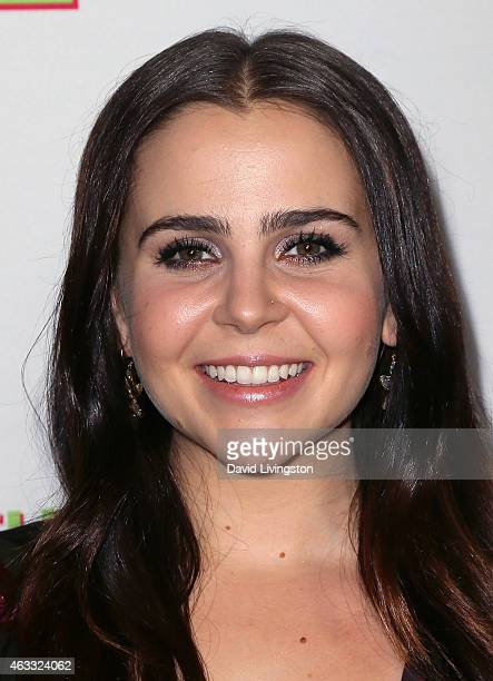 Actress Mae Whitman attends a fan screening of CBS Films' The Duff at TCL Chinese 6 Theatres on February 12 2015 in Hollywood California