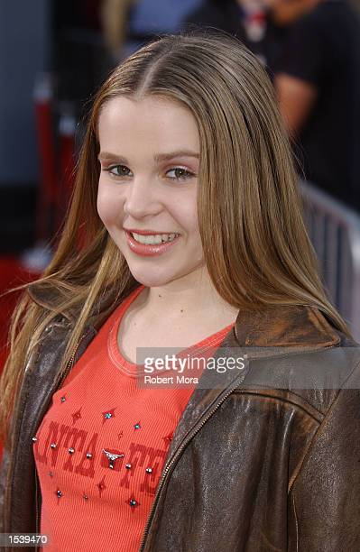 Actress Mae Whitman attends ESPN's Ultimate X movie premiere May 6, 2002 in Universal City, CA.