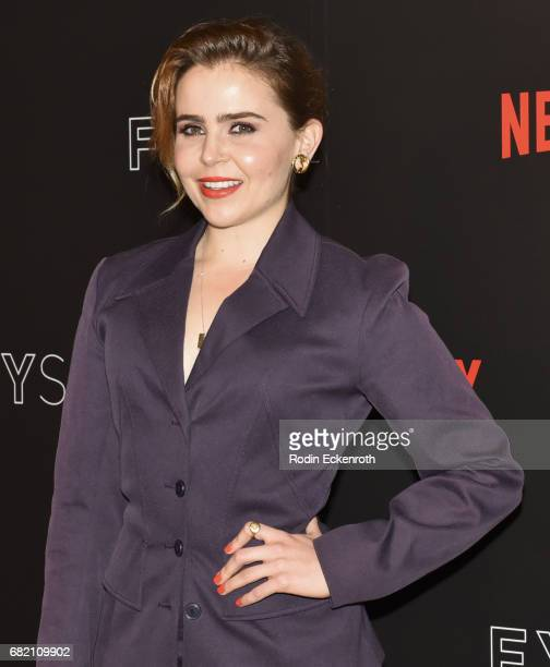 Actress Mae Whitman attends Gilmore Girls A Year in the Life For Your Consideration Event at Netflix FYSee Space on May 11 2017 in Beverly Hills...