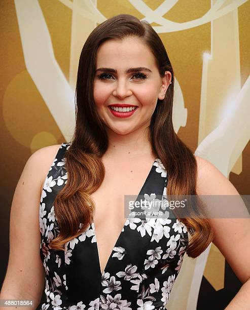 Actress Mae Whitman attends the 2015 Creative Arts Emmy Awards at Microsoft Theater on September 12 2015 in Los Angeles California