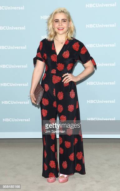 Actress Mae Whitman attends the 2018 NBCUniversal Upfront presentation at Rockefeller Center on May 14, 2018 in New York City.