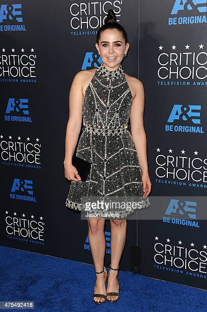 Actress Mae Whitman attends the 5th annual Critics' Choice Television Awards at The Beverly Hilton Hotel on May 31 2015 in Beverly Hills California